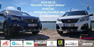 Pirmasis Memel Peugeot klubo didysis susibūrimas
