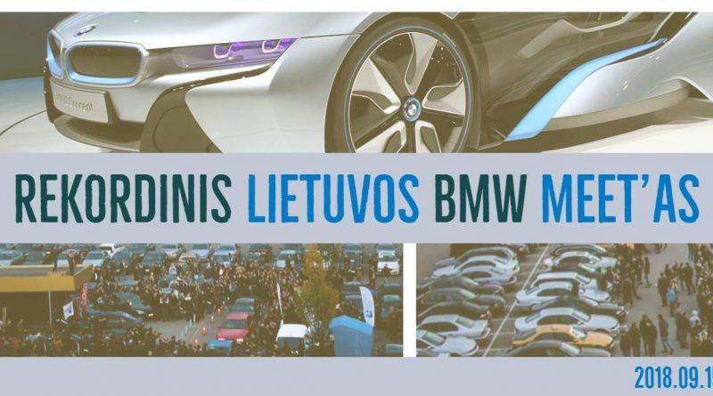 Rekordinis Lietuvos BMW Meet'as