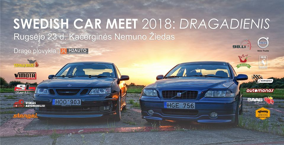 Swedish Car Meet vol.3: Dragadienis