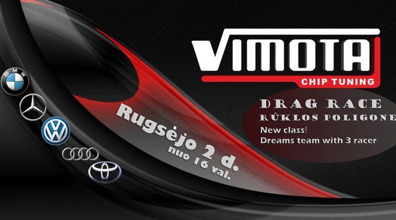 Vimota drag race Ruklos poligone 2018-09-02