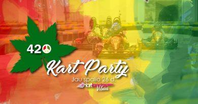 420''Kart Party @Kartlandas Vilnius. I etapas