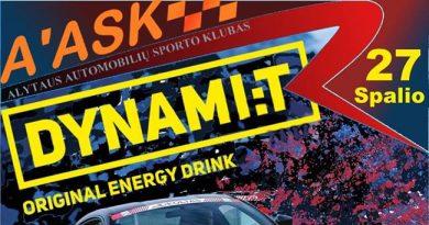 Alytaus ruduo 2018 slalomas Dynami:t Original Energy DRINK
