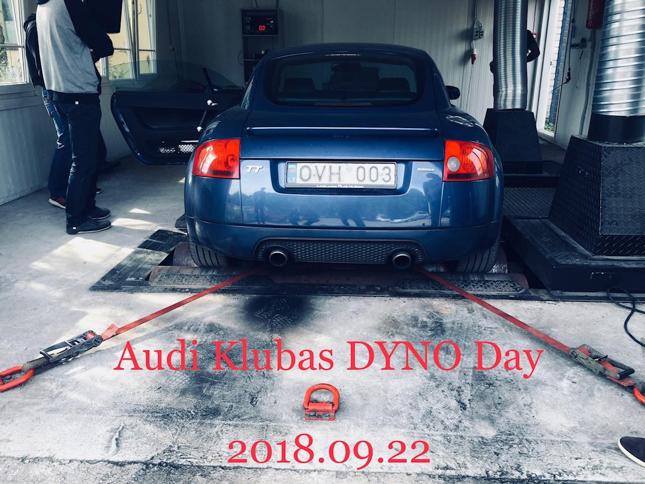 Audi Klubas Dyno Day 2018