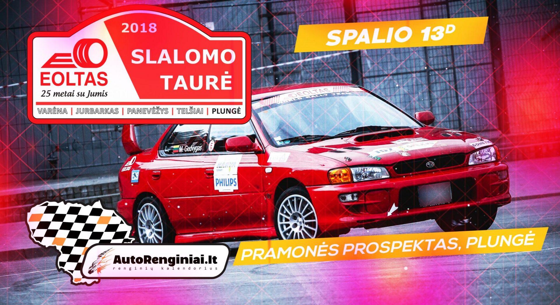 EOLTO slalomo taurė 2018 - #5 etapas