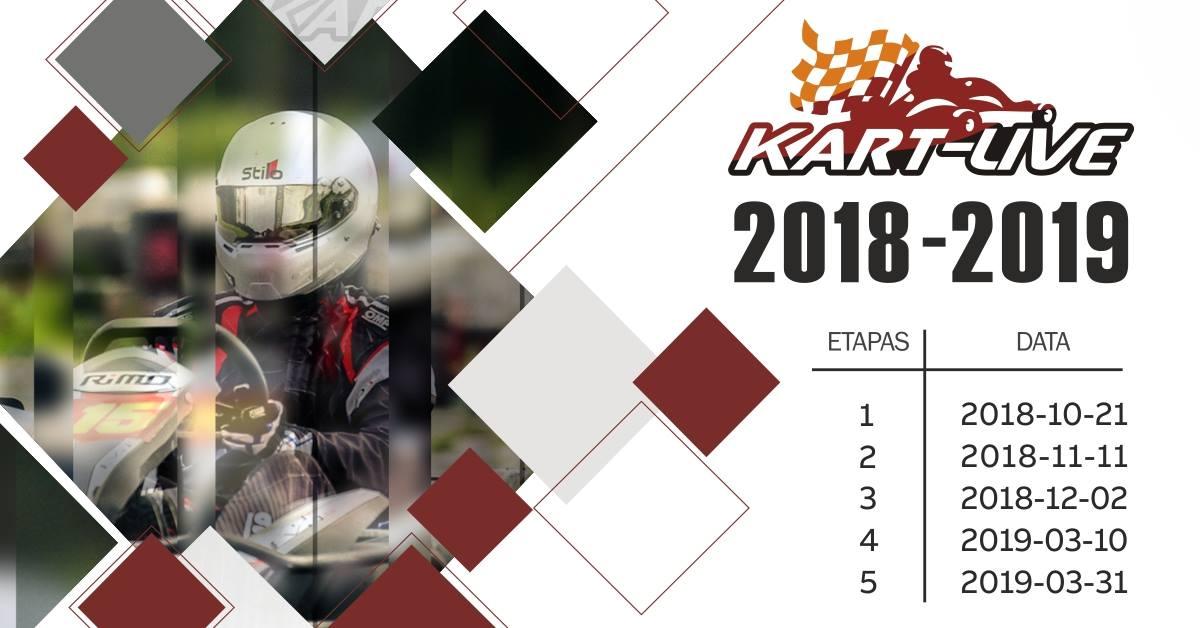 """Kartingo mėgėjų čempionatas """"Kart-Live taurė 2018-2019"""""""