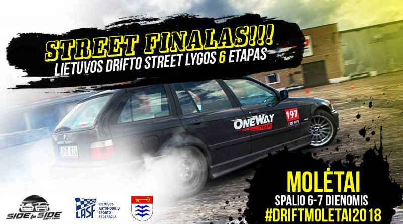 Lietuvos Drifto Street lygos finalas #DriftMoletai2018