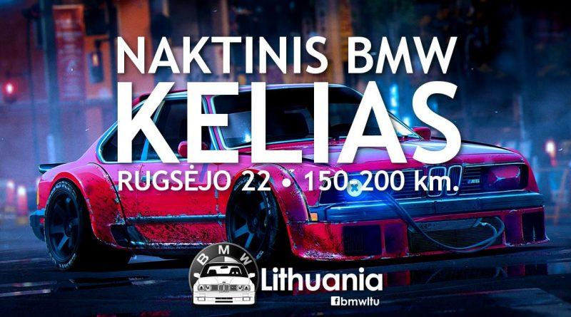 Naktinis BMW Kelias | BMW Lithuania