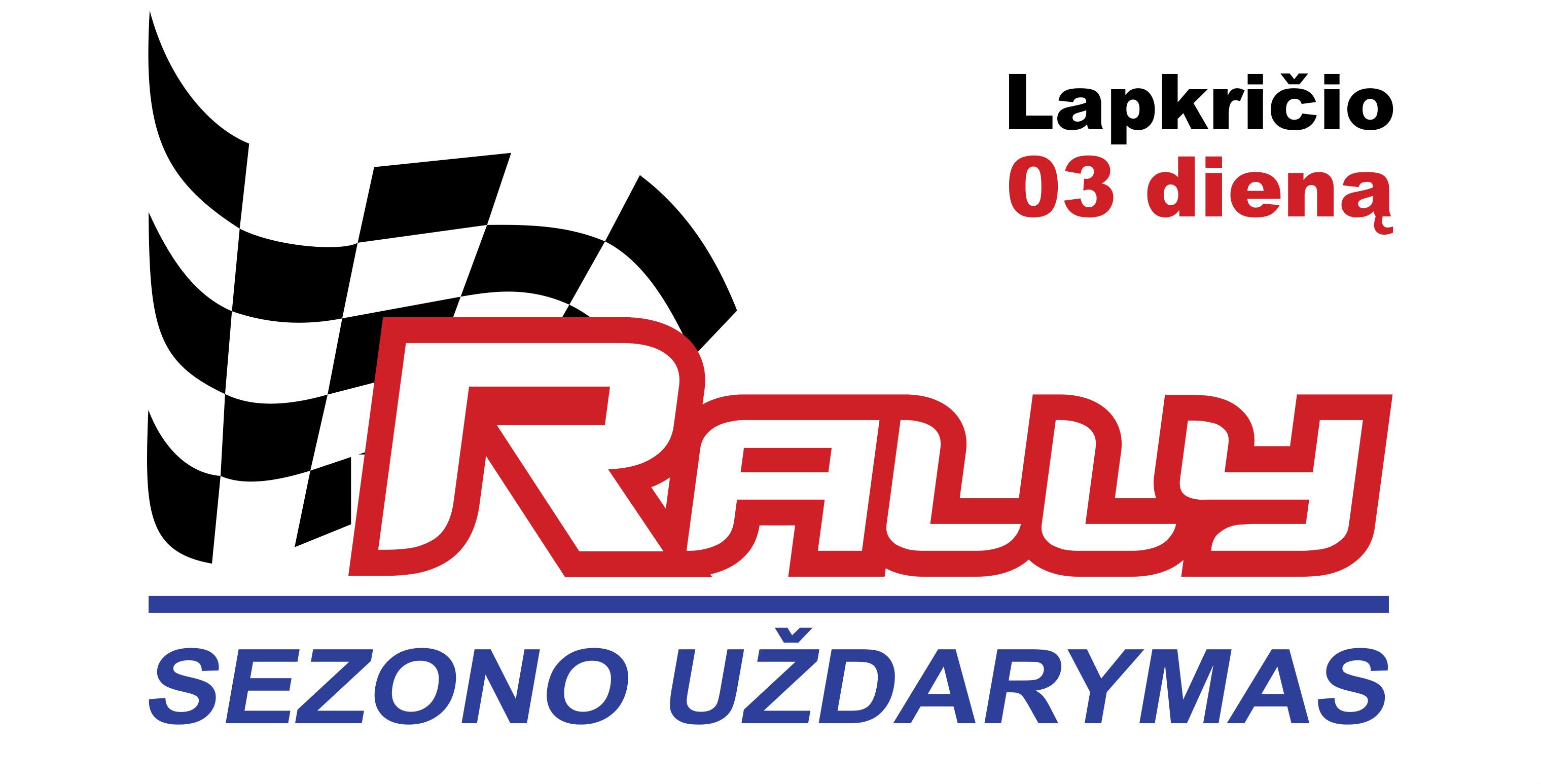 Rally sezono uždarymas 2018