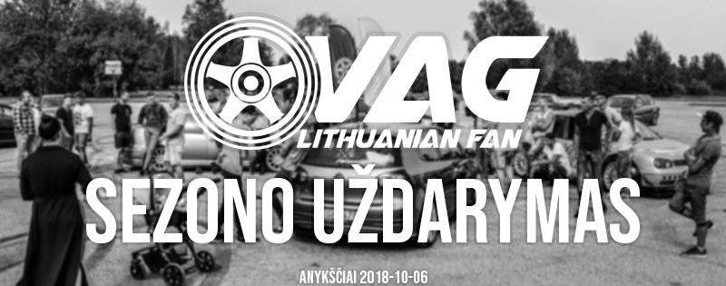 VAG Lithuanian Fan sezono uždarymas