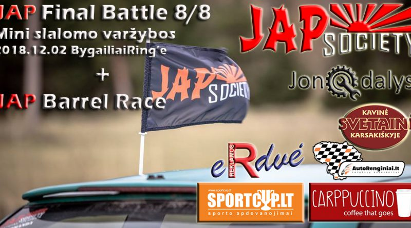 JAP Final Battle + JAP Barrel Race