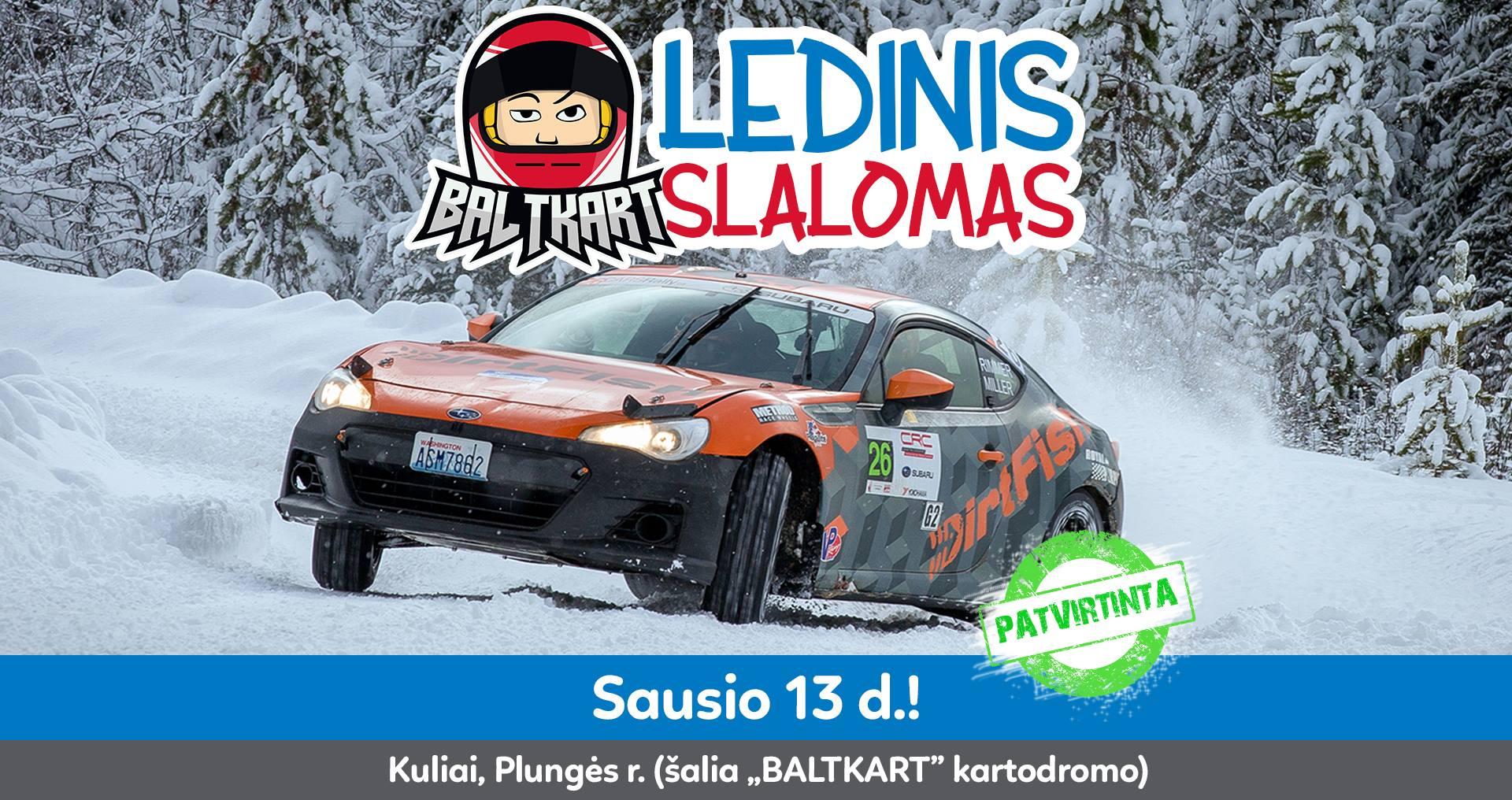 """Baltkart"" Ledinis Slalomas #1!"