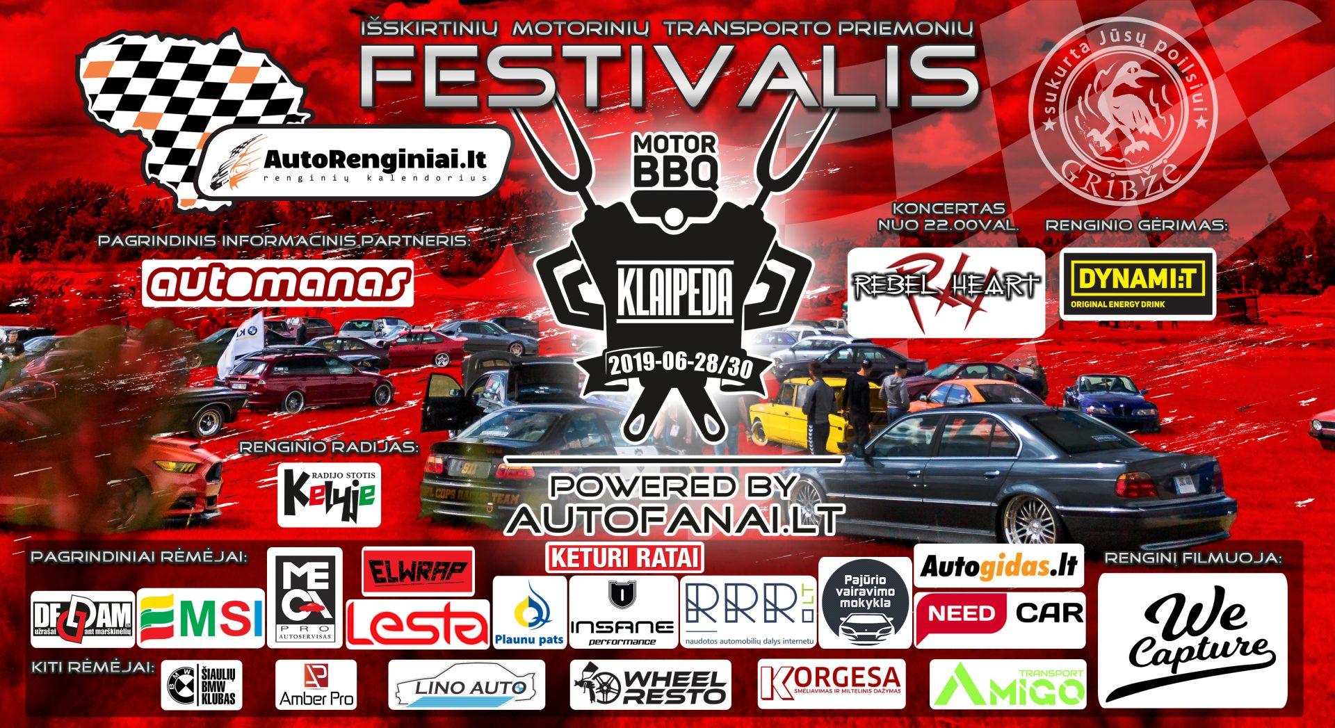 Klaipėda Motor BBQ 2019 powered by Autofanai.lt