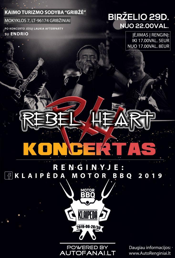 Rebelhear koncertas Klaipėda Motor BBQ 2019 metu