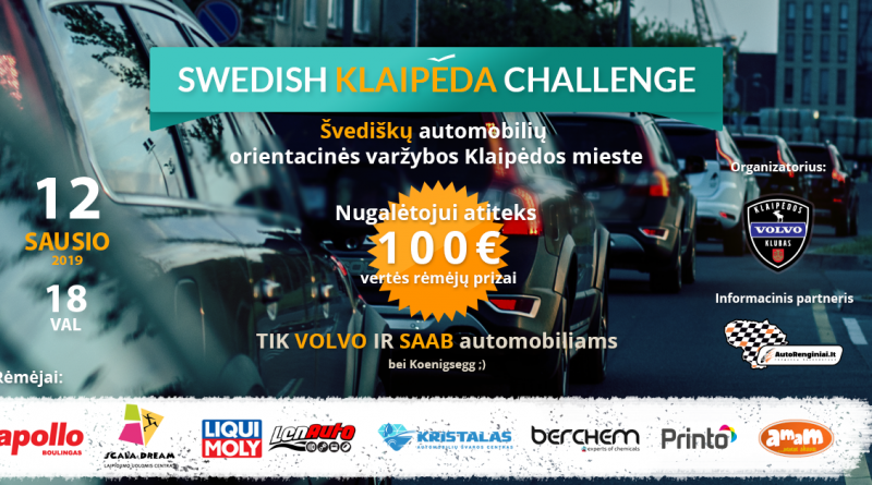 Swedish Klaipėda Challenge