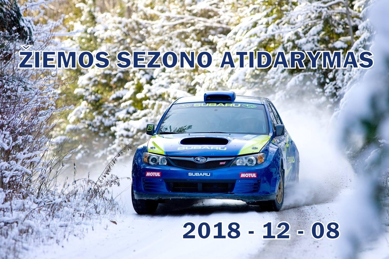 Žiemos Sezono Atidarymo Treniruotė 2018-12-08