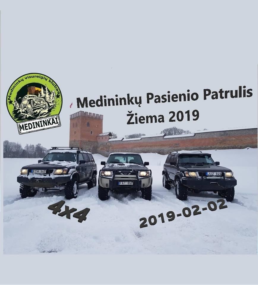 4x4 MPP Žiema 2019 02 02
