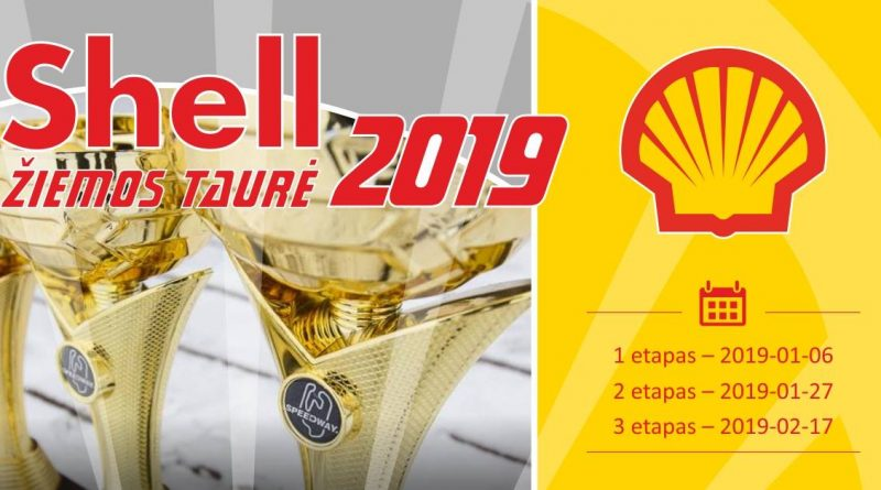 """Kartingo mėgėjų čempionatas """"Shell žiemos taurė 2019"""""""