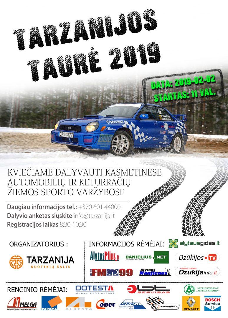 Tarzanijos taurė 2019