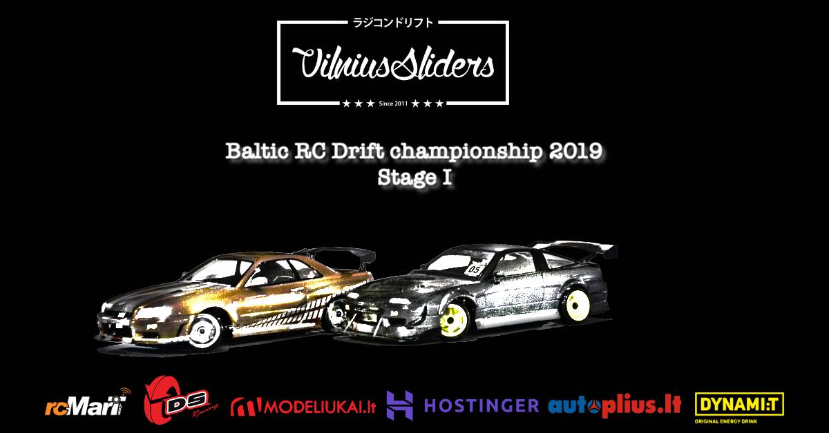 Baltic RC drift 2019 - Stage I