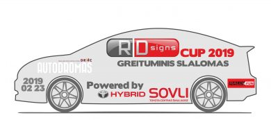 RD signs CUP 2019 powered by Toyota