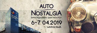 Auto Nostalgia 2019 - Targi Pojazdów Zabytkowych