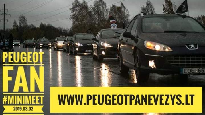 Panevėžio Peugeot Klubo MiniMeet