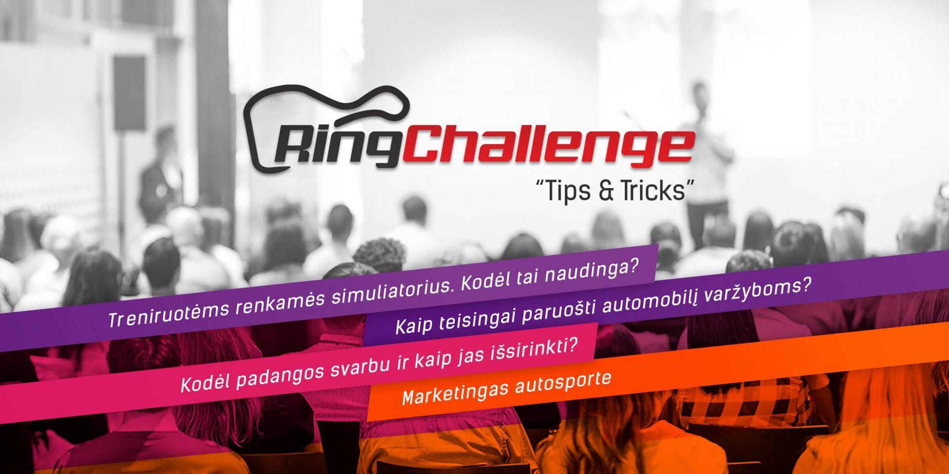 Tips&Tricks - besiruošiant Lietuvos žiedinių lenktynių sezonui