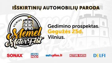Vilnius. Memel Motor Fest.