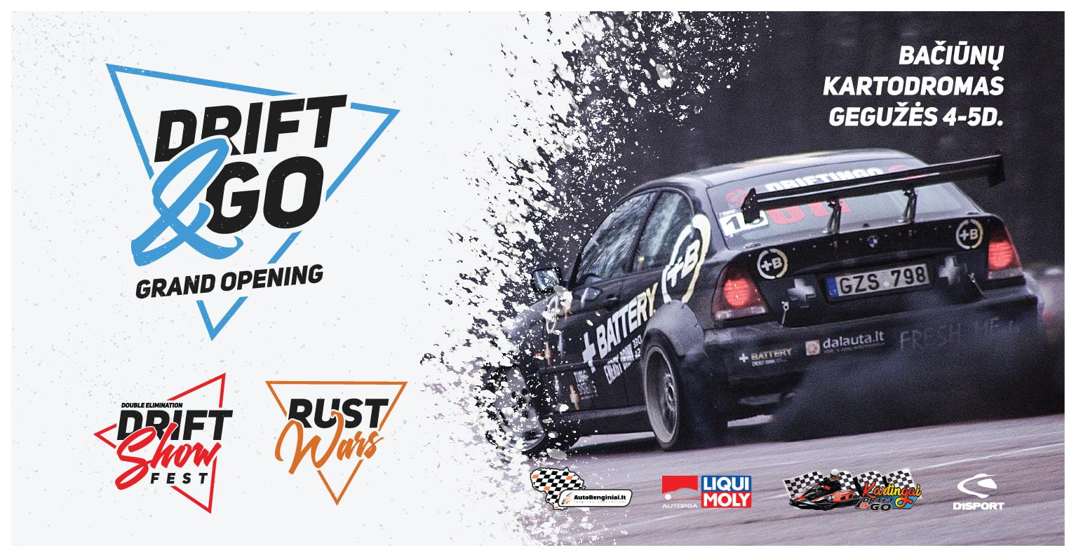 Drift & GO Grand Opening / Sezono atidarymas / Šiauliai