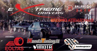 eXtreme Drivers sezono atidarymas 2019