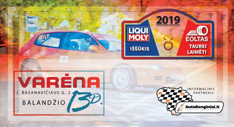 Liqui Moly iššūkis Eolto taurei laimėti 2019 - #1 Varėna