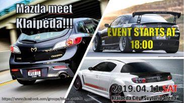 Mazda meet Klaipėda