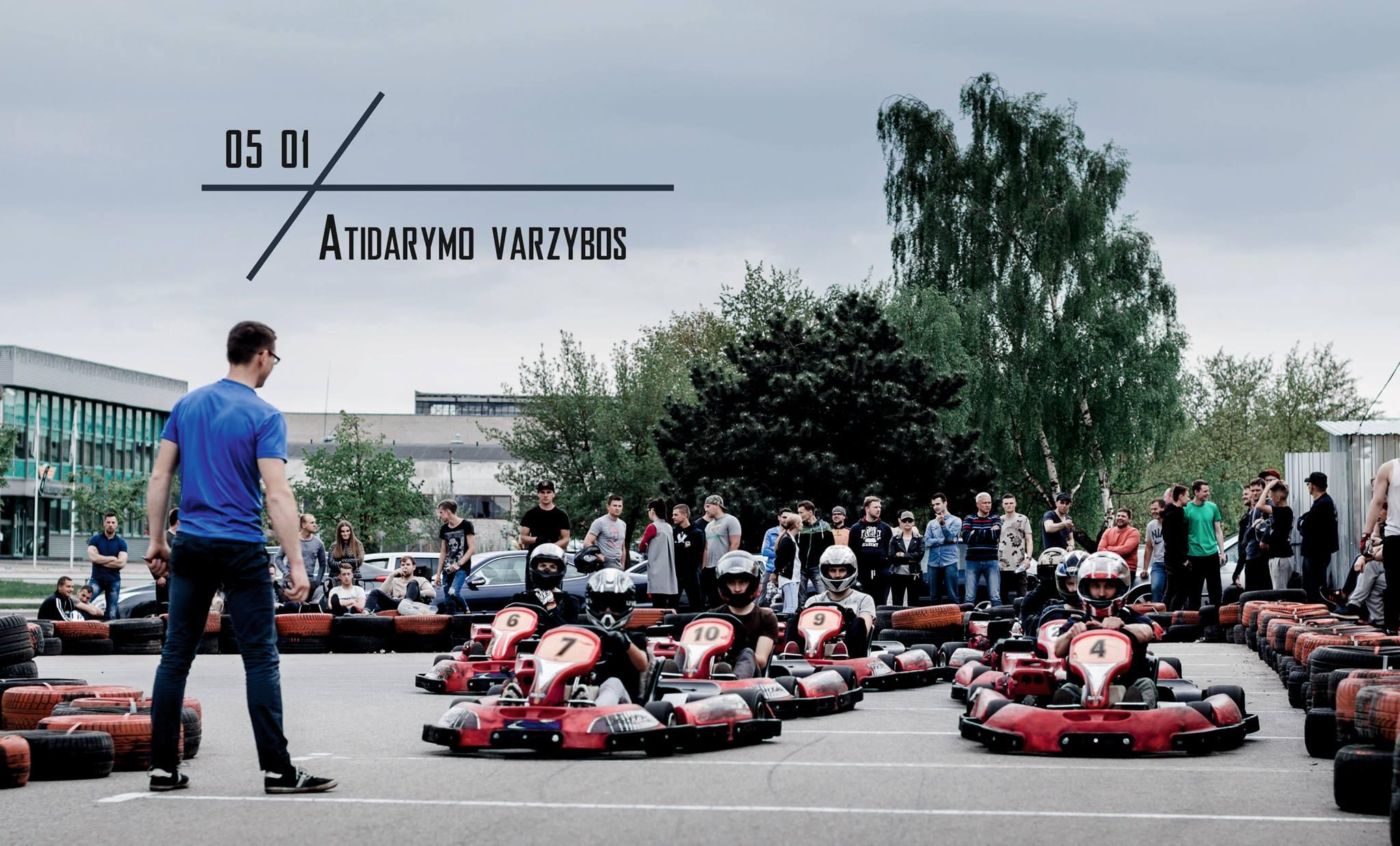 Sezono atidarymo varžybos Šiaulių kartinguose