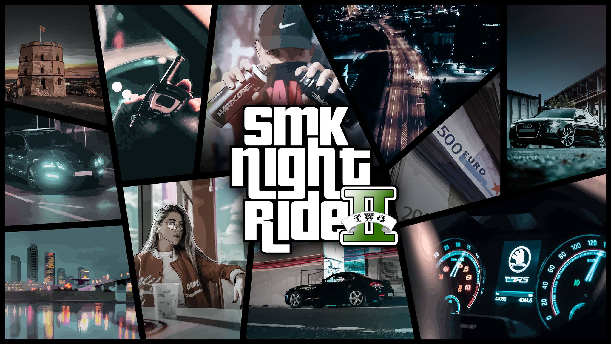 SMK NIGHT RIDE ll