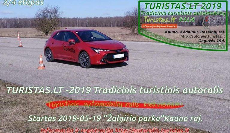 Tradicinis turistinis automobilių ralis Turistas.lt 2019