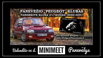 Užkandžiai, kava ir staigmenos kartu su Panevėžio Peugeot klubu
