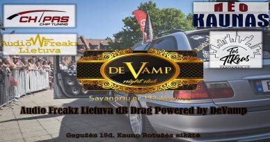 Audio Freakz Lietuva dbDrag Powered By DeVamp
