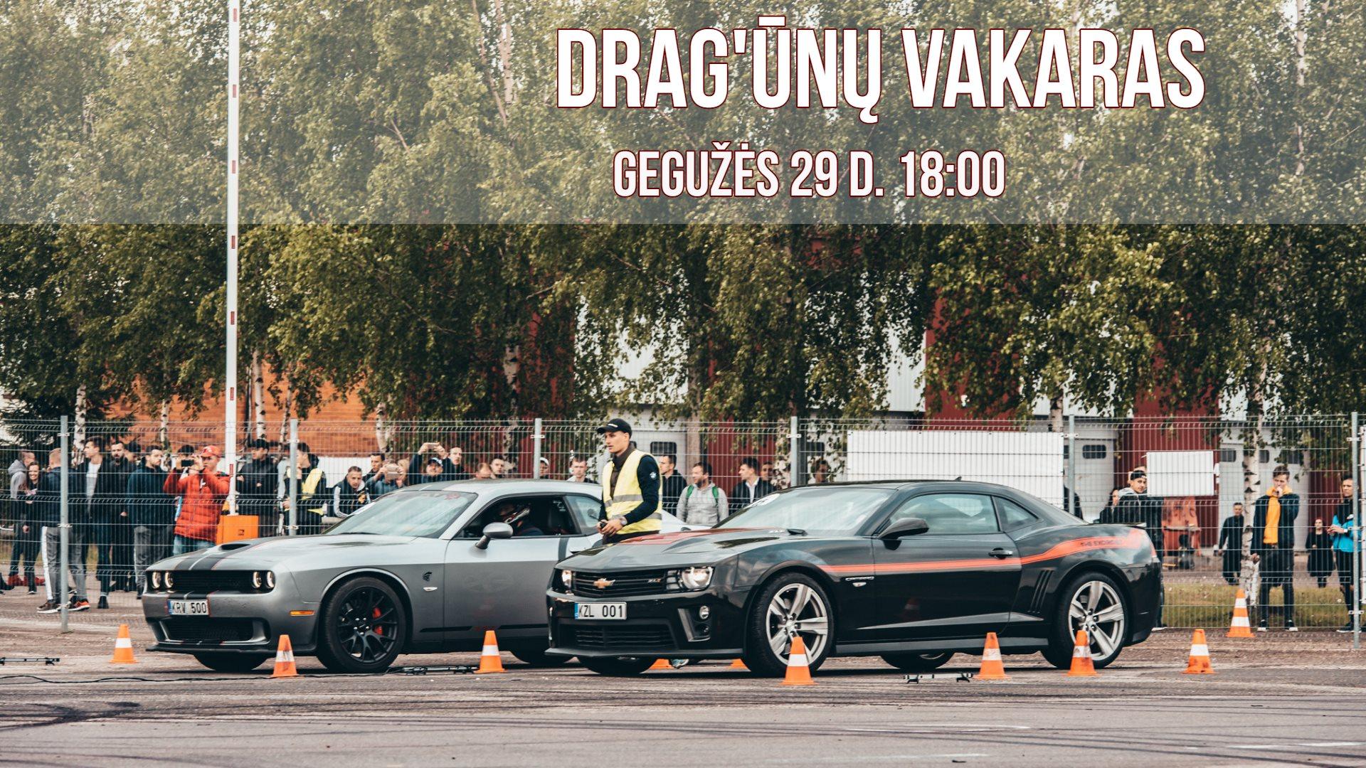 DRAG'ūnų vakaras 2019-05-29