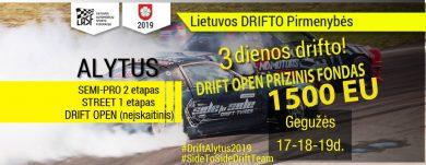 Drift Alytus 2019