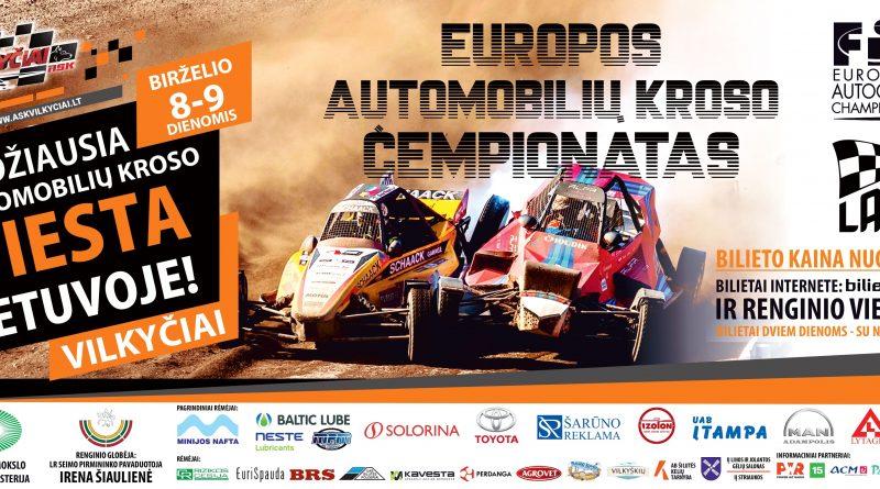 Europos automobilių kroso čempionato III etapas