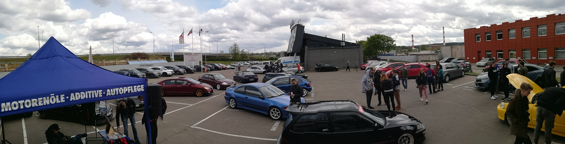 Honda klubo mini-roadtrip to Trakai