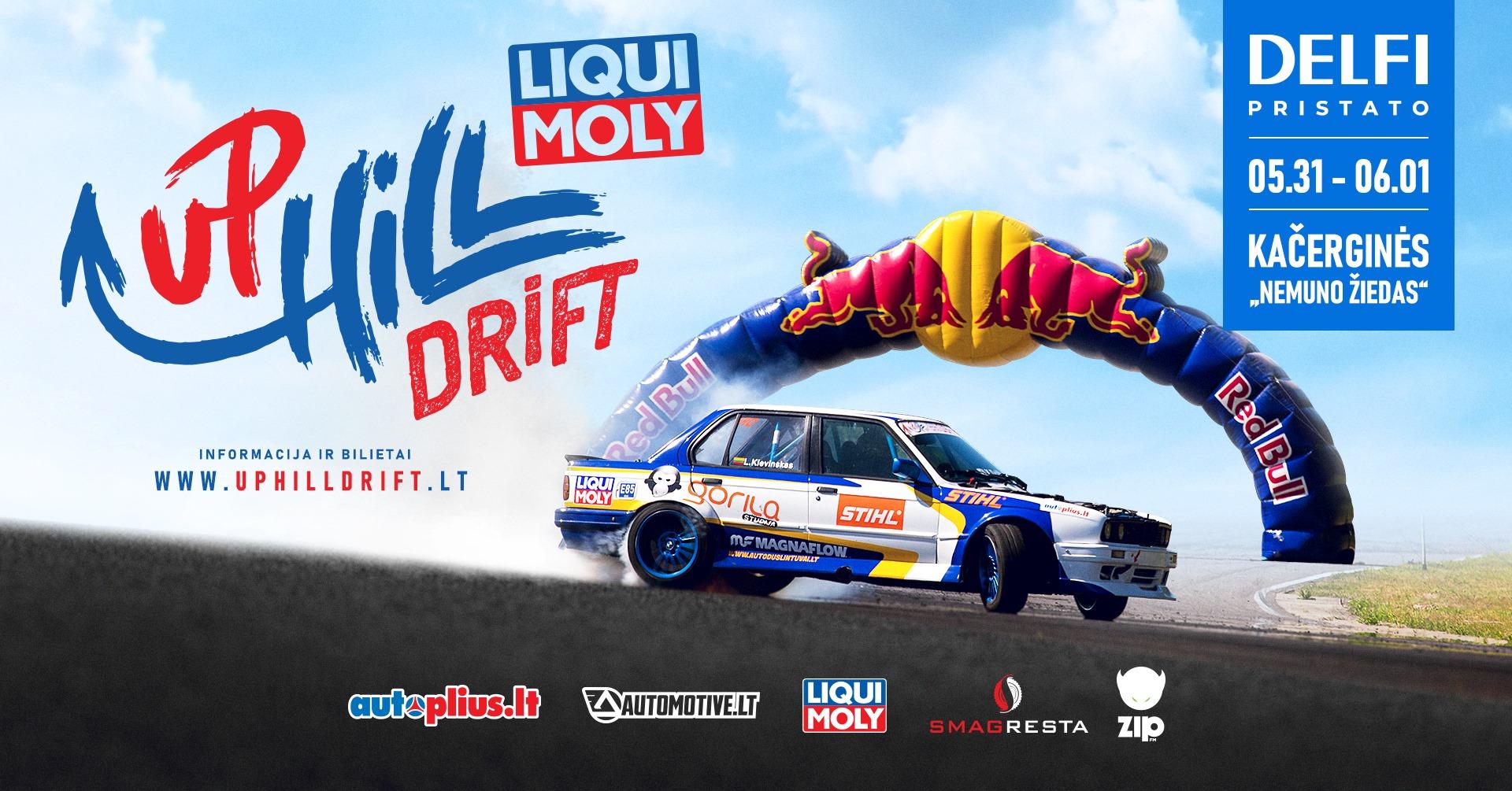 """Liqui Moly UpHill Drift 05.31-06.01 Kačerginės """"Nemuno žiedas"""""""