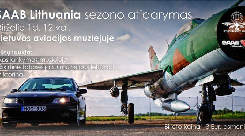 SAAB Lithuania sezono atidarymas