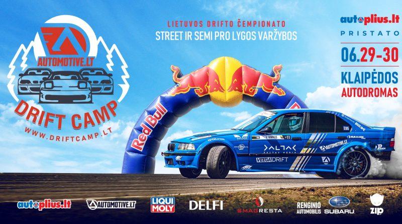 Automotive Drift Camp #1 06.29-30 Klaipėdos autodromas