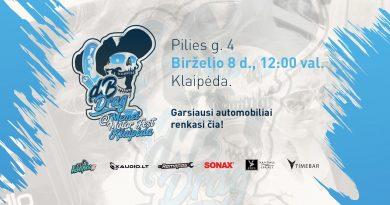 DB Drag at Memel Motor Fest Klaipėda