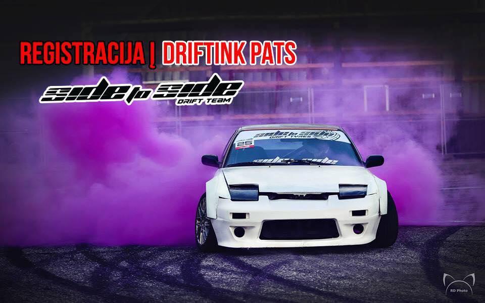 #DriftinkPats Vilniuje, 07.06