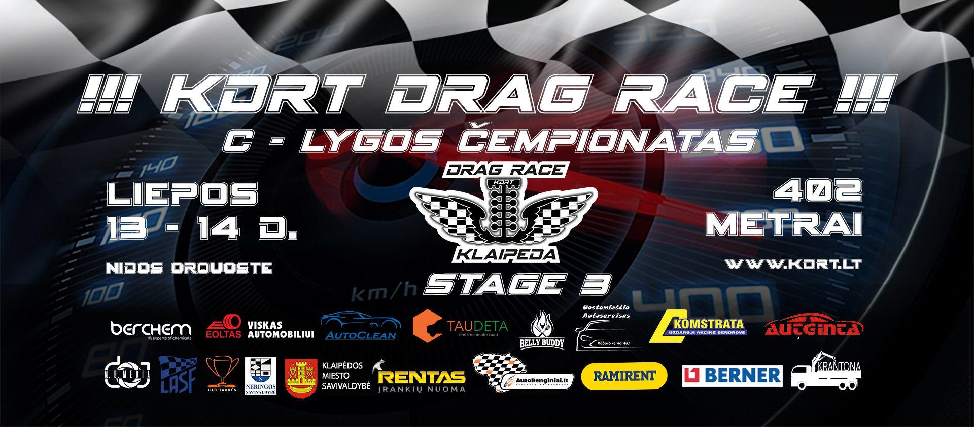 KDRT Drag STAGE 3 C lygos Čempionatas
