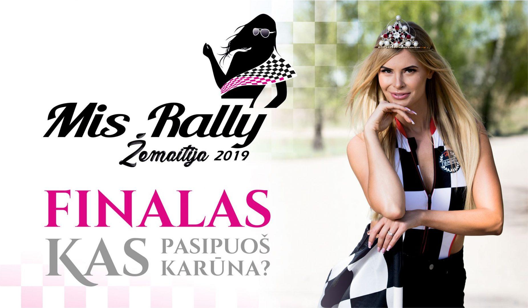 Mis Rally Žemaitija 2019 Finalas