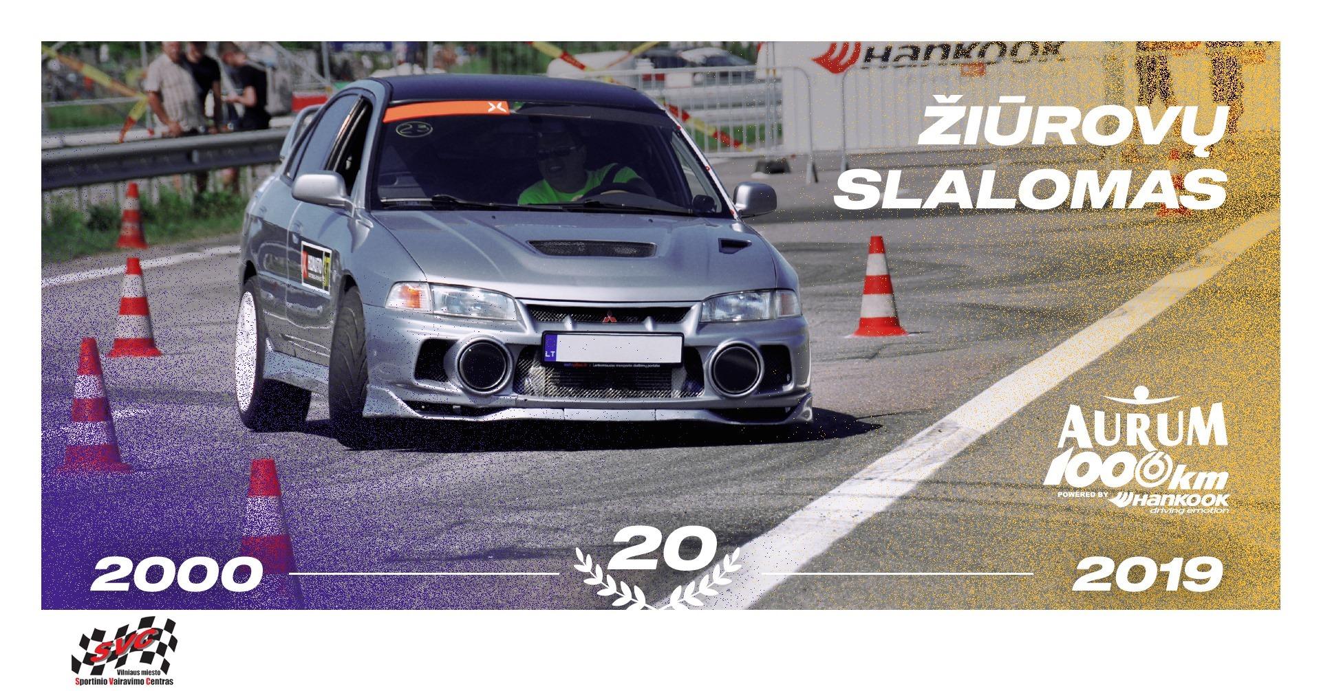 Žiūrovų slalomas // Aurum 1006 km
