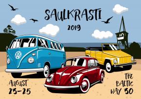 Aircooled Baltic Way 2019 Saulkrasti Latvia